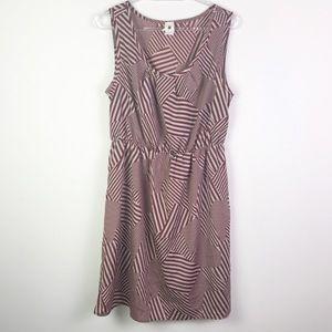 Anthro Needle & Thread Geometric Print Dress